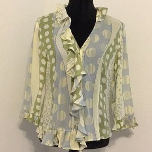 DonCaster Button Up Blouse